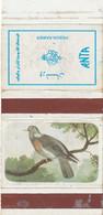 BOITES D'ALLUMETTES 86 : Pays Iran , Pigeon Ramier - Matchbox Labels