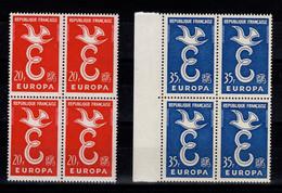Europa YV 1173 & 1174 N** En Blocs De 4 - Unused Stamps