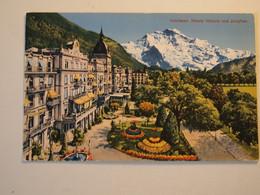 CPA Suisse Interlaken Hotels Victoria Und Jungfrau - BE Berne