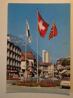 CPA Suisse Interlaken Bahnhofstrasse - BE Berne