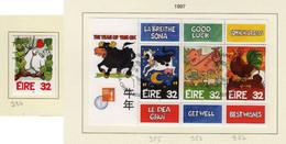 Irlande O N° Yv 984, 985, 986, 987; Mi 982, BL 21; SG 1100, MS 1104. - Used Stamps
