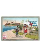B110 Carte Postale Publicitaire Chocolat Klaus 8 Postes Universelles CUBA - Pubblicitari
