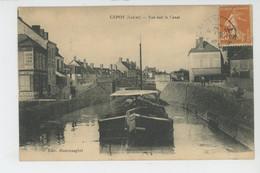 CEPOY - Vue Sur Le Canal (péniche ) - Other Municipalities