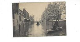 VILLENEUVE SAINT GEORGES LA GRANDE CRUE  DE LA SEINE JANVIER 1910       *****    A  SAISIR **** - Autres Communes