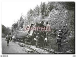 """'CPM Travaux De Relevage Sus L''oeil De L''occupant. Pr�s De La Doye.1943. Coll.NSICM""""""""""""' - Trains"""