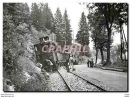 """CPM Relevage De La BCFe /4 5  Derill�e Res De La Doye En 1943 Apr�s Sabotage Des FFI Coll NStCM"""""""""""" - Trains"""