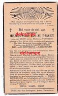 Oorlog Guerre Henri Praet Zele Gesneuveld Bombardement Te Zwijndrecht  Mei 1940 Verniers - Devotion Images