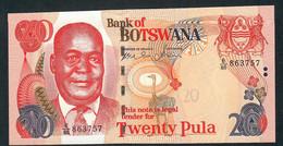 BOTSWANA P27b 20 PULA  2006  #E/85      UNC. - Botswana