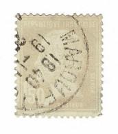 YT 181 Pasteur - Variété Sans Nuance - Oblitéré - Faux ? - Sin Clasificación