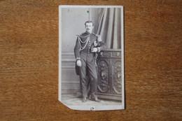 CDV Soldat Second Empire Officier  Grande Tenue Mr De Contenson Par Gustave Le Mans - War, Military