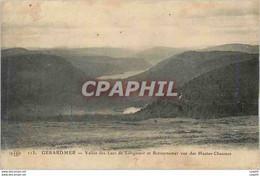 "CPA Gerardmer Vallee Des Lacs De Longemer Et Retournemer"" - Gerardmer"