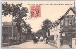 CPA 44 LOIRE ATLANTIQUE LA BAULE L ENTREE DU BOIS D AMOUR VASSELIER RIVAUX NANTES LE CROISIC - La Baule-Escoublac