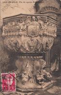 CARTOLINA  LECA DO BALIO,MATOSINHOS,PORTO,PORTOGALLO,PIA DA EGREJA DO MOSTEIRO,VIAGGIATA 1913 - Porto