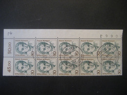 Deutschland Briefausschnitt 1987- Freimarken Frauen Deutscher Geschichte- Laut Foto - Used Stamps