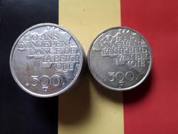 BELGIQUE LOT DE 10 PIECES DE 500F 1980 - Lots & Kiloware - Coins