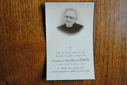 5224/ L'Abbé Henri LEROY-Curé MONTIGNIES-lez-LENS-BINCHE- 6/10/1893 Dcd MILAN 5/5/1949 - Décès