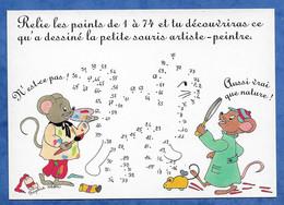 CPM Jeu Chat à Faire Apparaitre Petites Souris Humanisées - Illustrateur Sophie Héon Ed L'abeille S'amuse - Andere Illustrators