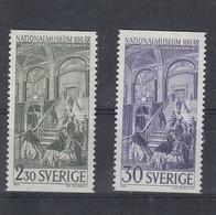 Schweden Michel Cat.No. Mnh/** 549/550 - Neufs