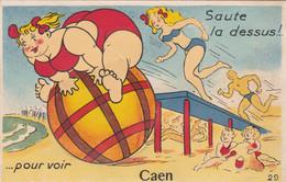 14 Caen. Carte Systeme. Saute La Dessus - Caen