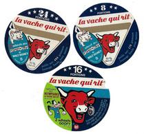 Lot De 3 étiquettes De VACHE QUI RIT    Ancienne Collection - Formaggio