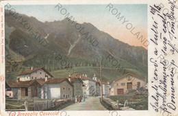 CARTOLINA  CASACCIA,VAL BREGAGLIA,GRISONS,SVIZZERA,VIAGGIATA 1902 - GR Grisons