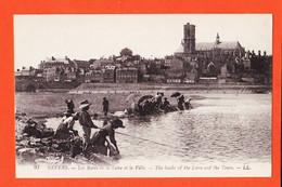 X58125 ⭐ NEVERS 58-Nièvre Lavandières Blanchisseuses Bords De LA LOIRE 1910s LEVY 97 - Nevers