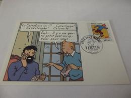 Carte Maximum 2000 Fête Du Timbre Tintin - 2000-09
