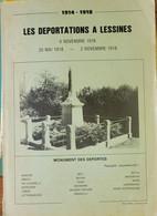 Lessines - Les Déportations à  Lessines En 1916 (rare) - Guerra 1914-18