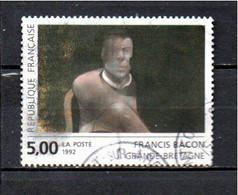 Timbre De France Oblitére  Rond 1992 - Usados