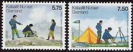 Groenland Greenland 2007 Yvertn° 459-460 *** MNH Cote 5,50 € CEPT Scoutisme - 2007