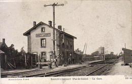 D62  SAULTY L'ARBRET  La Gare - Andere Gemeenten