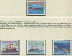 BAHAMAS / MiNr. 989 - 992 / Maritime Geschichte Der Bahamas / Postfrisch / ** / MNH - Ships