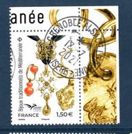 France 2021.Bijoux Traditionnels De Méditerranée EUROMED..Cachet Rond Gomme D'origine - Used Stamps