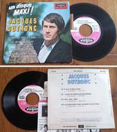 """RARE French EP 45t RPM BIEM (7"""") JACQUES DUTRONC (Lang, 1966) - Rock"""