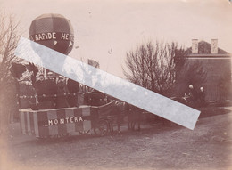 HERVE Un Char De La Cavalcade Vers 1900 Photo Amateur Albumine Format A5 - Plaatsen