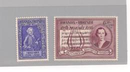 Ruanda Urundi  COB 200/201 MNH - 1916-22: Mint/hinged