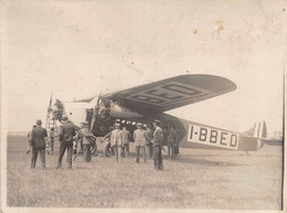 "2246"" FOTO-AEREO TRIMOTORE FOKKER F.VIIG-3 M  IBBED ANNI 30""  ANIMATA MISURE (8.50X 11.50) - Aviation"