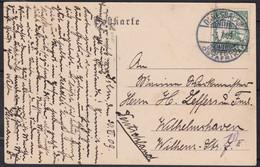 Deutsch Ost-Afrika    .    Postkarte     . Gebraucht     (2 Scans) - Kolonie: Duits Oost-Afrika