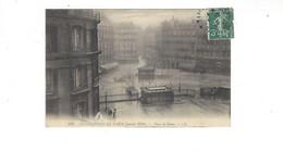 INONDATIONS DE PARIS  JANVIER  1910  Place De Rome        *****     A  SAISIR **** - Alluvioni Del 1910