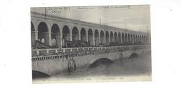 INONDATIONS DE PARIS  JANVIER  1910  LE  VIADUC D AUTEUIL        *****     A  SAISIR **** - Alluvioni Del 1910