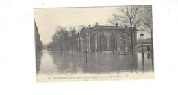 INONDATIONS DE PARIS  JANVIER  1910  LA  GARE DES INVALIDES         *****     A  SAISIR **** - Alluvioni Del 1910