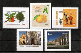 Portugal   2019 Mi.Nr. 4513 / 17 , Sehenswürdigkeiten Algarve - Selbstklebend / Self-adhesive - Postfrisch / MNH / (**) - Unused Stamps