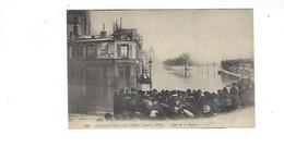 INONDATIONS DE PARIS  JANVIER  1910  QUAI DE LA RAPEE   *****     A  SAISIR **** - Alluvioni Del 1910