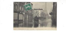 INONDATIONS DE PARIS  JANVIER  1910  LA RUE SAINT CHARLES     *****     A  SAISIR **** - Alluvioni Del 1910