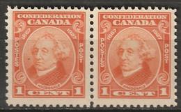 Canada 1927 Sc 141  Pair MNH** - Ungebraucht