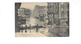 INONDATIONS DE PARIS EN 1910  LA GARE SAINT LAZARE  *****  A  SAISIR **** - Alluvioni Del 1910