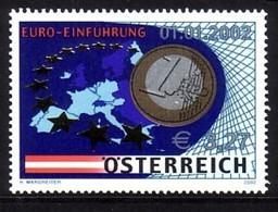 ÖSTERREICH MI-NR. 2368 POSTFRISCH(MINT) EINFÜHRUNG DES EUROS - European Ideas