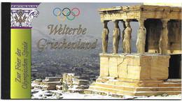United Nations UNO UN Vereinte Nationen Vienna Wien 2004 Unesco Heritage Patrimoine Kulturerbe Greece Griechenland ** - Markenheftchen