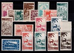 Maroc - YV 224 à 237 N** - Serie Signature Cortot, Le 236 Une Dent D'angle Imparfaite Sinon Serie Luxe Cote 13,50+ Euros - Unused Stamps