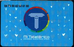 Bolivia 2019 Teleferico Prepaid Mothers Day Card (modern Aerocarril) Metropolitan Integration Network. - Other